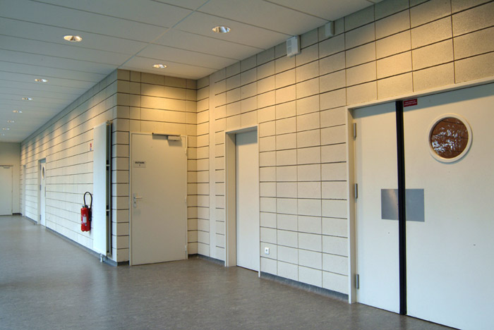 ACD GIRARDET Architecture à Versailles (78000) / Palis des Sport de Plaisir ( 78370) - Blocs ELCO Acoustiques Coffrants