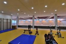 Agence ALLUIN & MAUDUIT Architecture à Boulogne-Billancourt (92) / Gymnase du Lycée Marceau à Chartes (28) - Blocs ELCO Coffrant Acoustique
