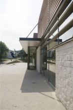 Agence Arcos Architecture à Paris (75020) / Complexe Omnisports de CHAMBOURCY (78) - Blocs ELCO Coffrant Acoustique