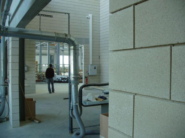 Agence VASCONI Architecture à Paris (75006) / Lycée Galliéni à Toulouse (31) - 5.760m² de Blocs Acoustiques ELCO Coffrant