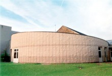 CARRE D ARCHE Architecture à Bourges (18) / Ecole élémentaire à Puiseaux (45) - Bloc de parement à montage à sec ELCO (Procédé ELCOBLOC)
