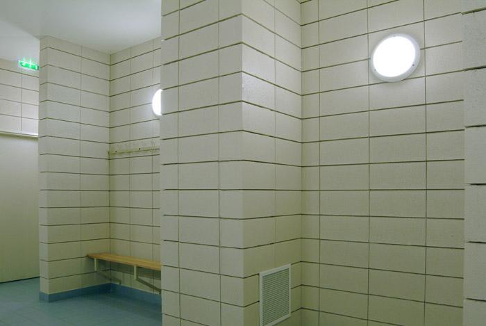 ACD GIRARDET Architecture à Versailles (78000) / Palis des Sport d'Issy-les-Moiulineaux (92130) - 3.400 m² de blocs ELCO Acoustiques Coffrants