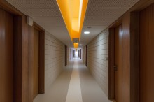 Munvez & Morel Architecture à Toulouse / Collège à Auterive (31) - Blocs de parement ELCO Acoustique