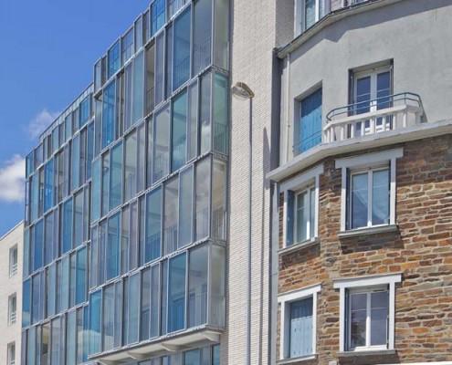 ARS Rocheteau à Nantes (44000) / Logements Quai Magellan à Nantes (44) - Brique Am90 à maçonner BlocStar