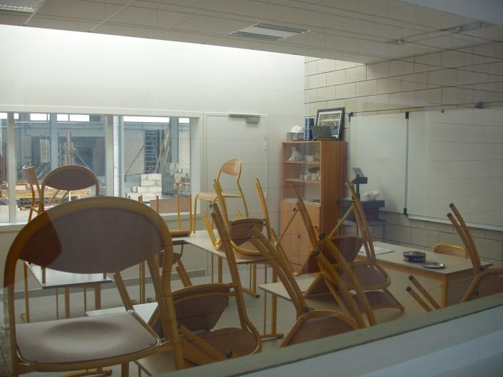 COLAS Architecture à Calais (62) / Lycée Technique de Blanquefort (33) - 3.400 m² de Blocs Acoustiques ELCO Coffrant