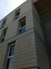 Logement à Fameck - Graffite Architecture à Marly (57) / Blocs ELCO Coffrants parement Lisse