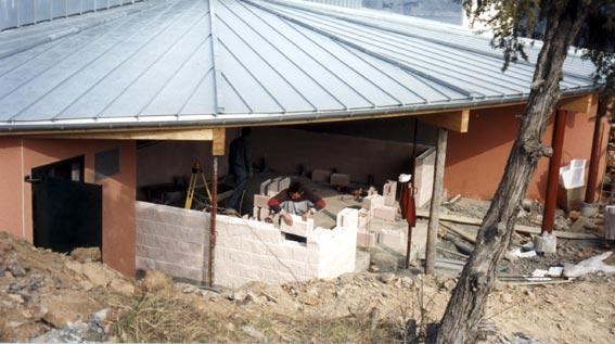 Sanitaires à Espinasse (05) / Agence Climats à Gap (05) - Blocs ELCO Alvéolés