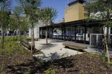 Parc Coislin à Metz / Agence ARTE Charpentier à Paris (75002) / Blocs de Parement à montage à Sec ELCO Coffrant de 20