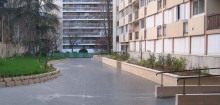 Jardinière en secteur Collectif / Claisse Bâtiment (Chevilly-Larue 94) Blocs ELCO Alvéolés