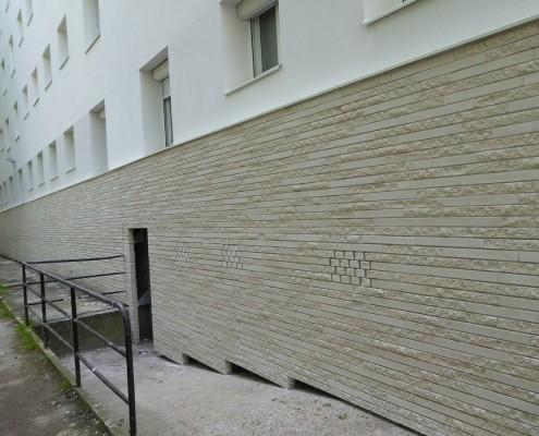 Réhabilitation i3F à la Haye-les-Roses (94) - A&B Architectes à Paris (75004) - Immobilière 3F (75) - 1.005m² Briques BlocStar Am90