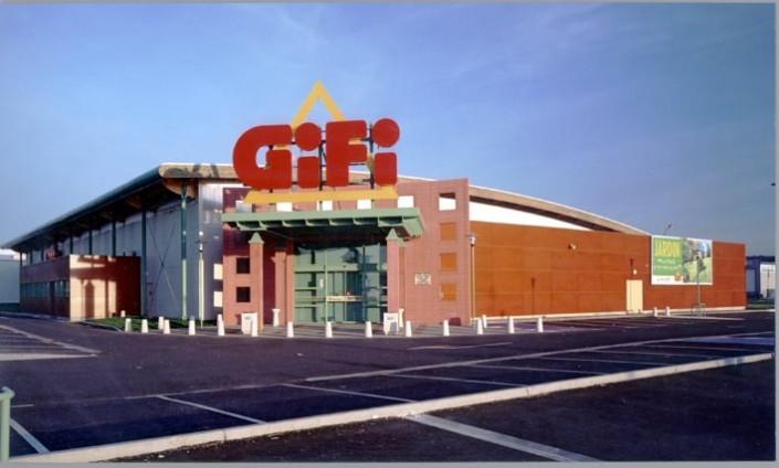 Architecture & Territoire à Genoble (38) / Bêtiment Gifi à Villeneuve sur Lot (47) - Blocs Architectoniques ELCO