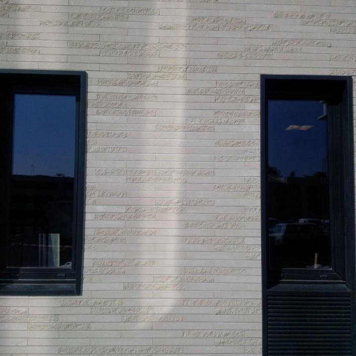 Agence AIA Architecture à Lyon / Briques béton Am90