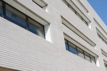 Agence ENIA Architecture à Montreuil (93) / Bâtiment Egis à Montpellier - Briques Béton Am90 BlocStar