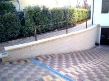 Séparatif Extérieur & mur de Clôture en Blocs ELCO Coffrant de 20 : Parement ClivéTon Pierre