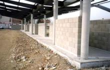 Séparatif Extérieur & Cloture en Blocs ELCO Alvéolés de 20 Parement Lisse Ton Pierre