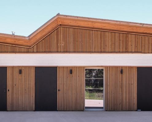 Pôle de la petite enfance à Perpignan (66) - Perris Architecture (11) - Conseil Général des Pyrénées Orientales (66) - 860m² de Briques BlocStar Am90 et Am180