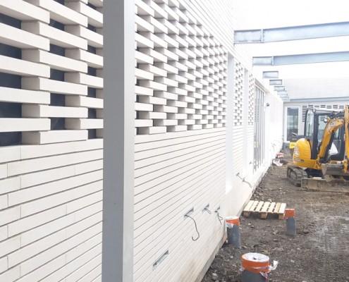 Groupe Scolaire Fondada (31) / Branger Romeu Architecture à Toulouse (31) : BlocStar Am90 BRIQUE à maçonner avec un joint sec de 10mm