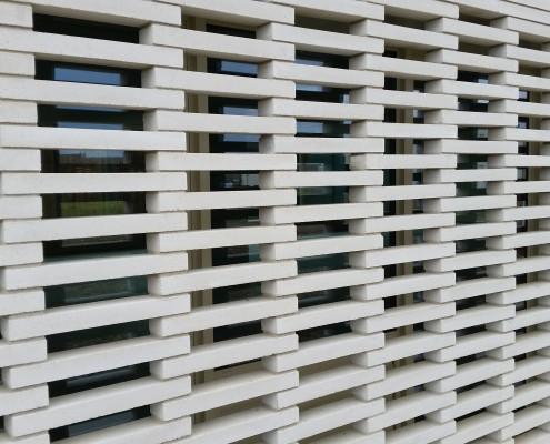 Calestroupat Architecture à Toulouse (31) / Espace Bergean à Escalguens (31450) - Briques Béton Am90 BlocStar