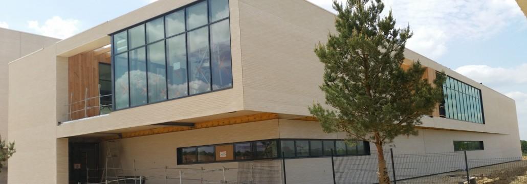 7.415 m² Briques BlocStar Am90 à Maçnner / joint horizontal tiré au Fer