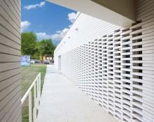 Espace Bergean à Escalquens (31) : Calestroupat architecture à Toulouse (31) – 810m² Briques BlocStar Am90