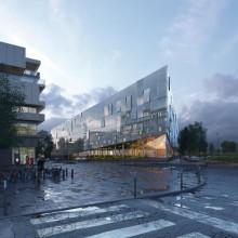 Nouveau Rectorat à Lille (59) Agence Scau Architecture à Paris