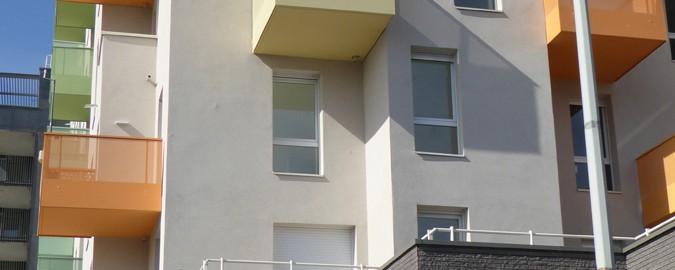 94 Logements à Bagnolet (93) / LESPRIT & Partenaires Architectes à Paris (75019) - 890 m² BRIQUES BlocStar Am90 Anthracites Carbone Clivées