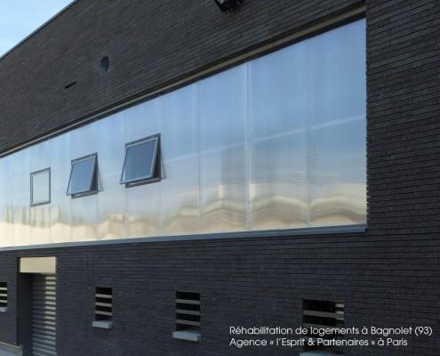 Réhabilitation de logements à Bagnolet (93), agence « l'Esprit & Partenaires » à Paris