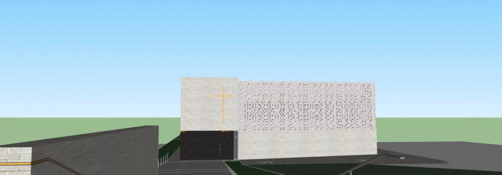 Eglise Saint Joseph à Montigny les Cormeilles (95) : Agence ENIA Architecture à Montreuil (94) / Pavé & BRIQUES BlocStar Acoustiques As100 &  Am90  / Am180