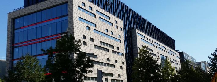 Bâtiment de Bureaux V2c à Boulogne-Billancourt (92) : KCAMP Architecture à Rotterdam - 2.600 m² de Briques Mbi parement Clivé