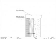 Tête-de-mur-avec-Recouvrement-d'une-couvertine-Béton