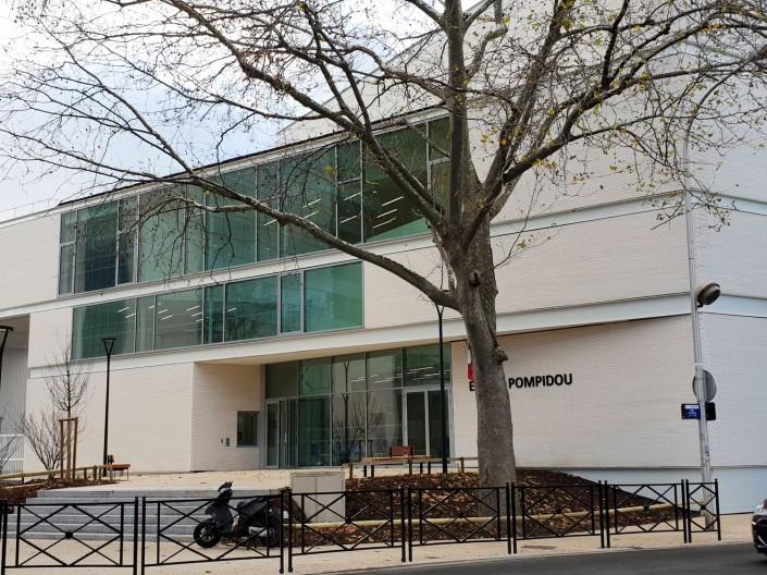 Gymnase Georges pompidou à Courbevoie