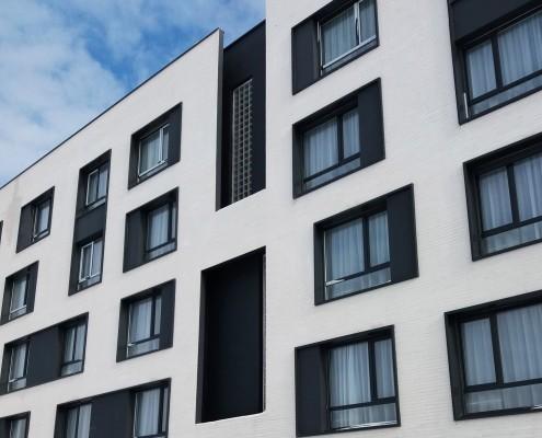 Logements 151 à Pierrefittes-sur-Seine (93) – Valéro Gadan (75) – 3850 m² Plaquettes BlocStar AC19