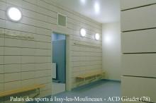 Palais des sports à Issy les Moulineaux - ACD Giradet (78)