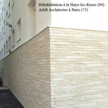 Réhabilitation i3F à la Haye-les-Roses (94) / Agence A&B Architecture Paris - Briques BlocStar Am90