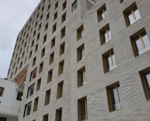 Logements Ilots G2 à Nantes (44) – Tectone architecture (75) & Tact Architectes (44)- 4200 m² de briques BlocStar Am90
