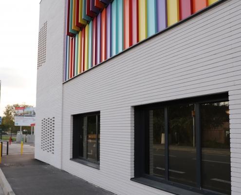 Groupe ScoGroupe Scolaire Germaine Tillion (31) - IDP Architectes (31) - Mairie de Toulouse (31) - 780 m² de briques BlocStar Am90