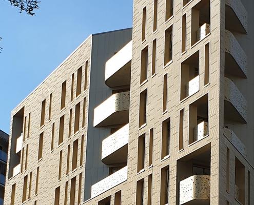 59 Logements Partenord Rue Cordonnier à LilleRésidence rue cordonnier à Lille - Concept Archi (59)