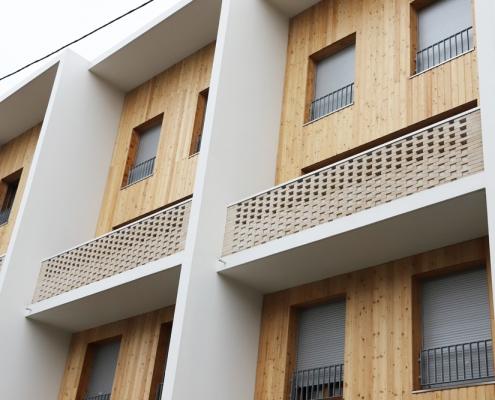 71 Logements à la Courneuve (93) - Mao Architectes (75) et JTB Architecture (75) - 850 m² de brique BlocStar Am90et Am180