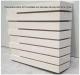 Plaquettes béton Ac19 scellées sur panneau depolyuréthane rigide