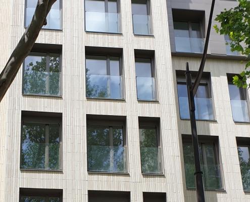 Logements Mistral (75) Inspace Architecture (75) Demathieu & Bard Immobilier (94) - 220m² Plaquettes BlocStar Ac19 en Pose Verticale