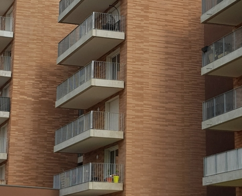 Les Fenestras à Toulouse (31) Taillandier Architectes (31) - 4200m² Plaquettes BlocStar Ac19 & Briques Am70