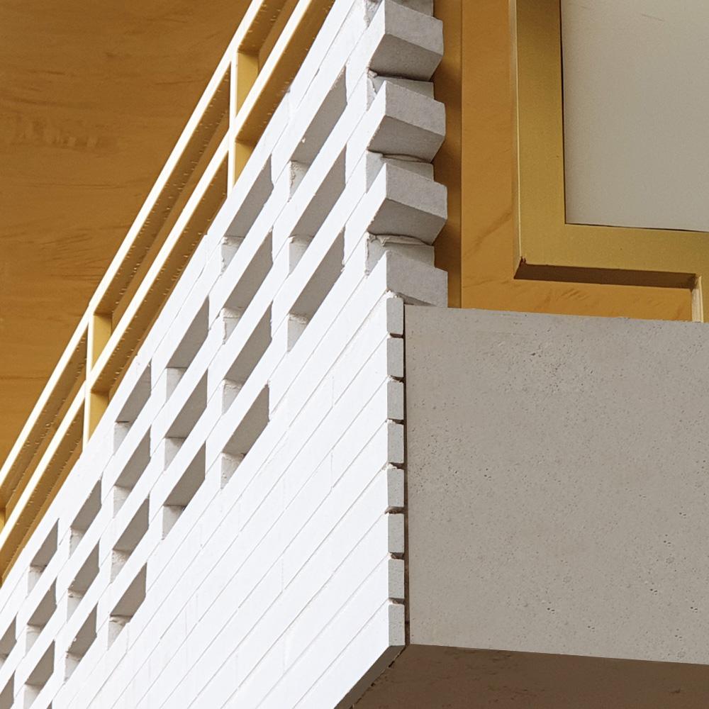 Jonction Briques Am90 et Plaquettes Ac19