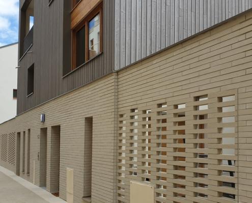moucharabieh - 125 Logements a Romainville - MFR Architectes