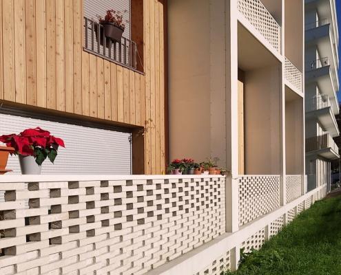850 m² de brique BlocStar Am90 et Am180