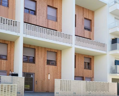 71 Logements à la Courneuve (93) - Mao Architectes (75) et JTB Architecture (75) - 850 m² de brique BlocStar Am90 et Am180