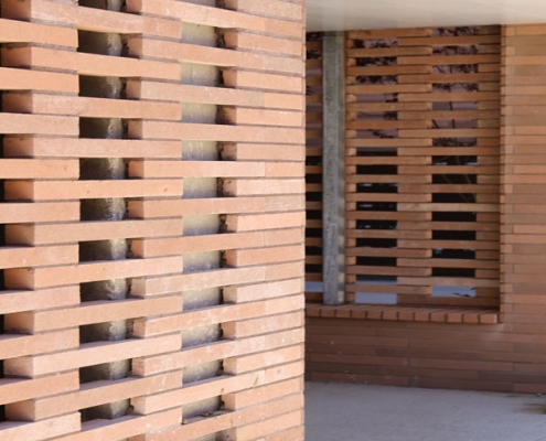 Les Fenestras à Toulouse (31) Taillandier Architectes (31) – Toulouse Habitat (31) – 4200m² Plaquettes BlocStar Ac19 & Briques Am70