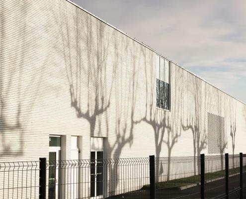Collège Léon Cazeneuve à Isle en Dodon (31) - C+2B Architecture (31) - 2500 m² de Briques BlocStar Am90